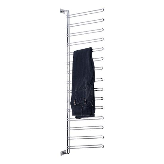 wenko hosenregal vertikaler schrankeinsatz f r 15 hosen. Black Bedroom Furniture Sets. Home Design Ideas