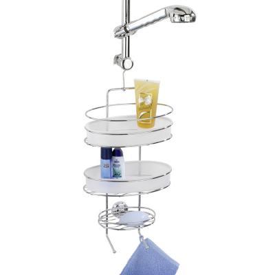 wenko duschdiener milazzo duschablage duschkorb h ngekorb h ngeablage ebay. Black Bedroom Furniture Sets. Home Design Ideas
