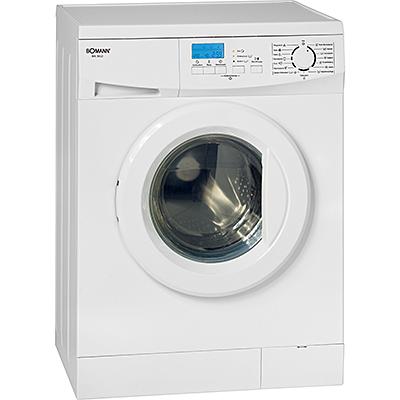 bomann wa 5612 waschmaschine frontlader silber eek a a b u min 6kg ebay. Black Bedroom Furniture Sets. Home Design Ideas