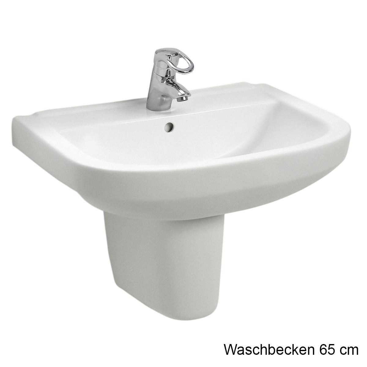 Waschbecken 65 cm breit finest waschbecken levant in wei for Badezimmer 65 cm breite