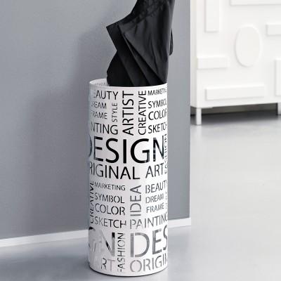 schirmst nder design wei regenschirm st nder. Black Bedroom Furniture Sets. Home Design Ideas