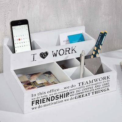 b ro organizer office wei ablagebox b rohelfer stiftehalter schreibtischbutler ebay. Black Bedroom Furniture Sets. Home Design Ideas