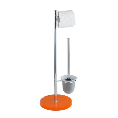 wenko stand wc garnitur tropic orange polyresin