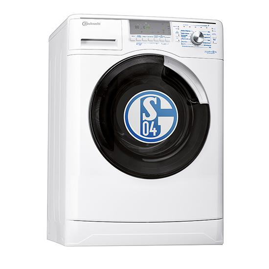 bauknecht wa schalke 04 frontlader waschmaschine eek a a b 7kg ebay. Black Bedroom Furniture Sets. Home Design Ideas