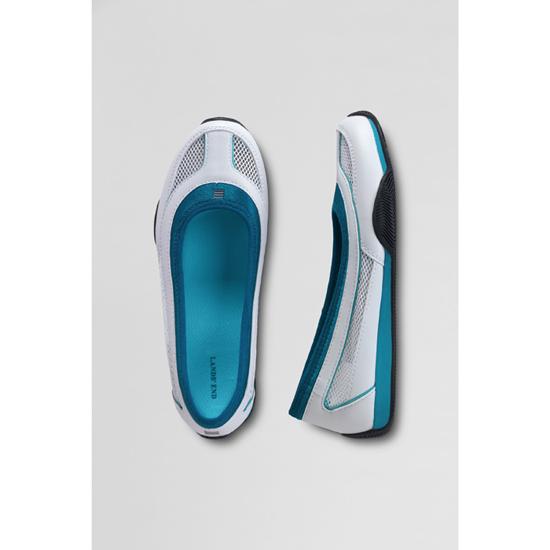 lands 39 end damen sport ballerina damenschuh freizeitschuh. Black Bedroom Furniture Sets. Home Design Ideas