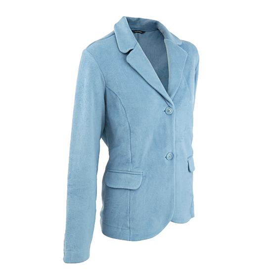lands 39 end damen blazer fleeceblazer damenblazer jacket. Black Bedroom Furniture Sets. Home Design Ideas