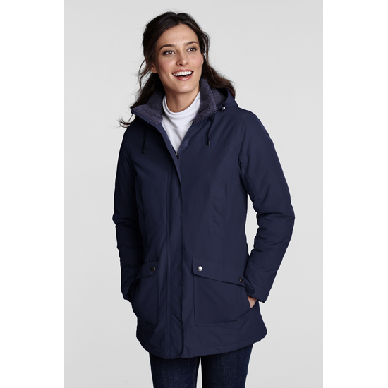 lands end damen parka thermoparka winterjacke damenjacke. Black Bedroom Furniture Sets. Home Design Ideas
