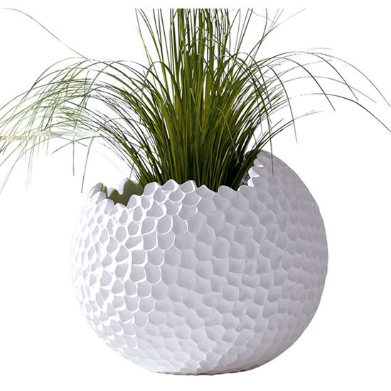 bertopf globe blumen bertopf k bel bertopf h40x 43 cm ebay. Black Bedroom Furniture Sets. Home Design Ideas