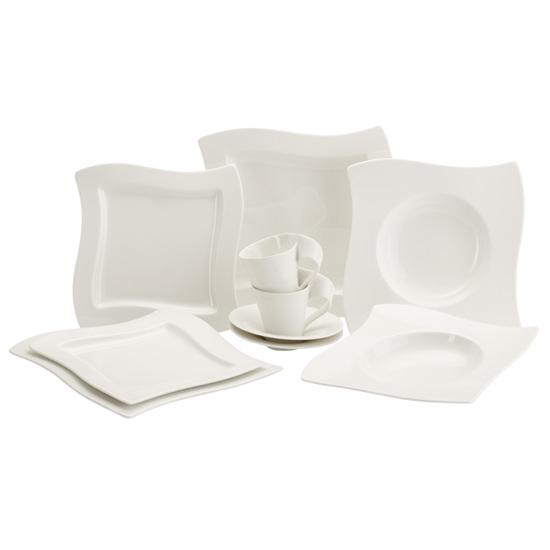 30 tlg villeroy boch newwave basic set porzellanservice tafelservice geschirr ebay. Black Bedroom Furniture Sets. Home Design Ideas