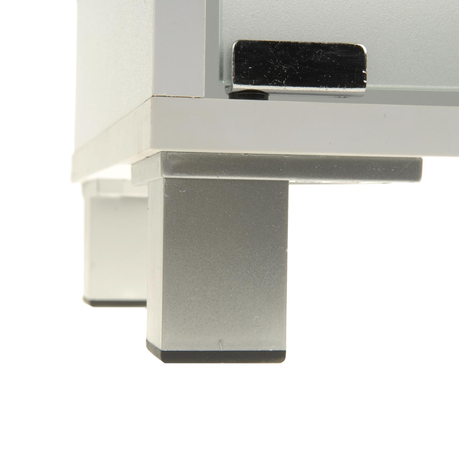 waschtischunterschrank mit 3 schubladen in wei waschtisch unterschrank neu ovp ebay. Black Bedroom Furniture Sets. Home Design Ideas