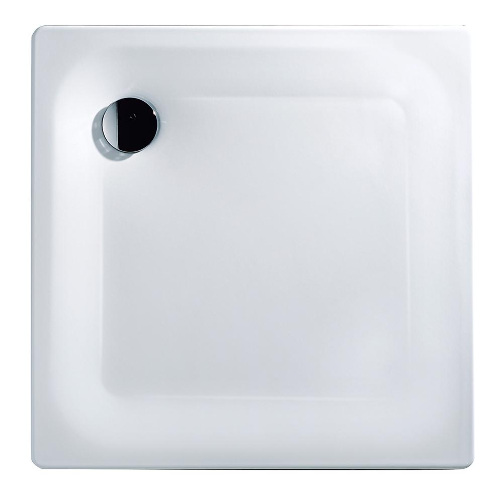 aquasu stahl brausewanne duschtasse duschwanne stahlwanne dusche 80x80 90x90 ebay. Black Bedroom Furniture Sets. Home Design Ideas