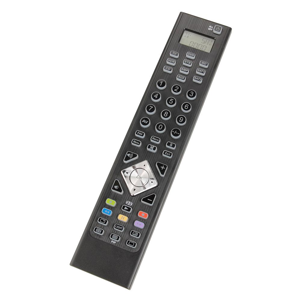 universalfernbedienung ufb 314 fernbedienung remote tv cd dvd bluray schwarz neu ebay. Black Bedroom Furniture Sets. Home Design Ideas