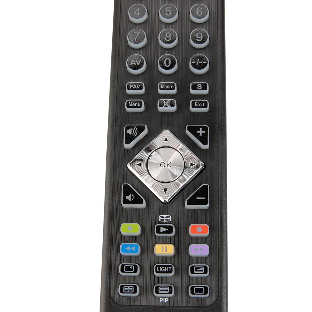 universalfernbedienung ufb 314 fernbedienung remote tv cd dvd bluray schwarz neu 4250541116111. Black Bedroom Furniture Sets. Home Design Ideas