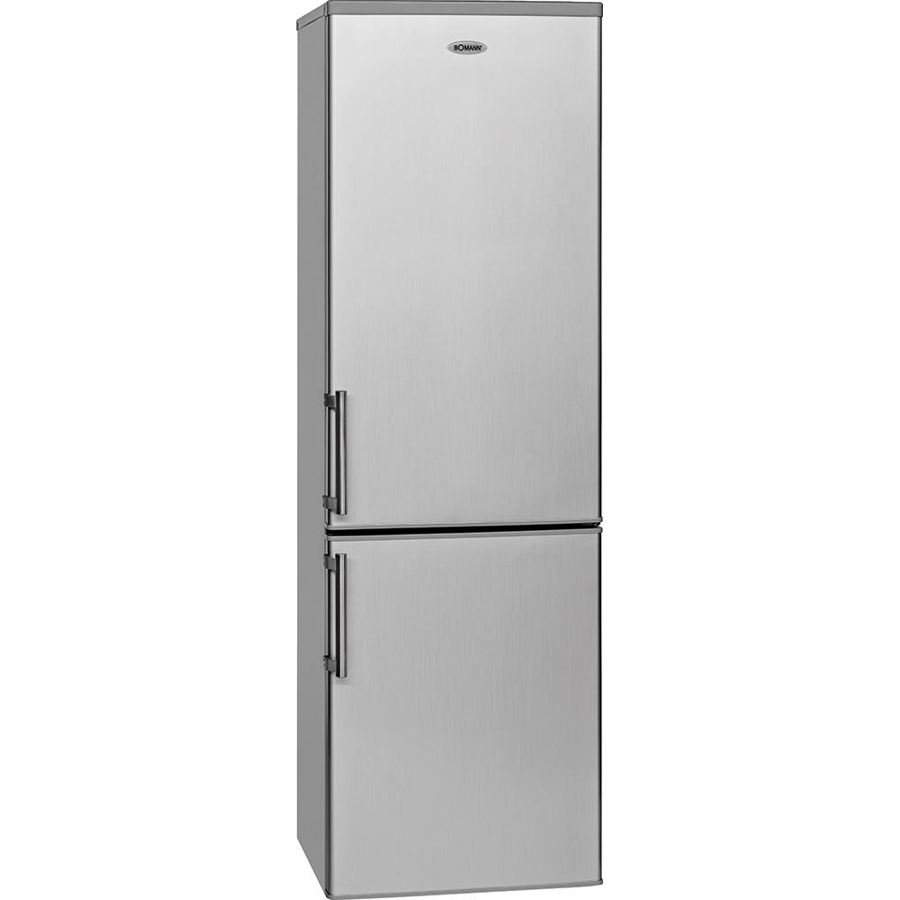 BOMANN KG 183 silber Doppel Kühlschrank A+++ Kühl ...