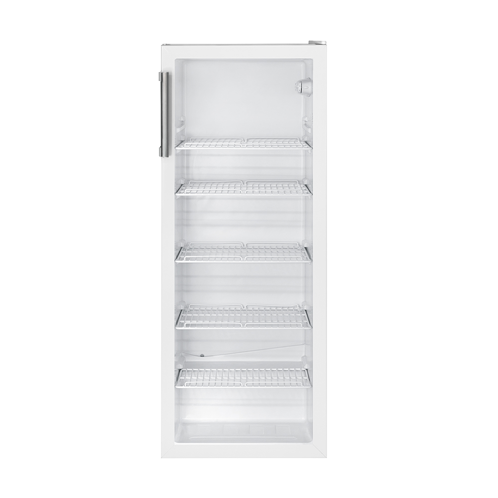 BOMANN Glastürkühlschrank KSG 235 weiß 247L Getränkekühlschrank ...
