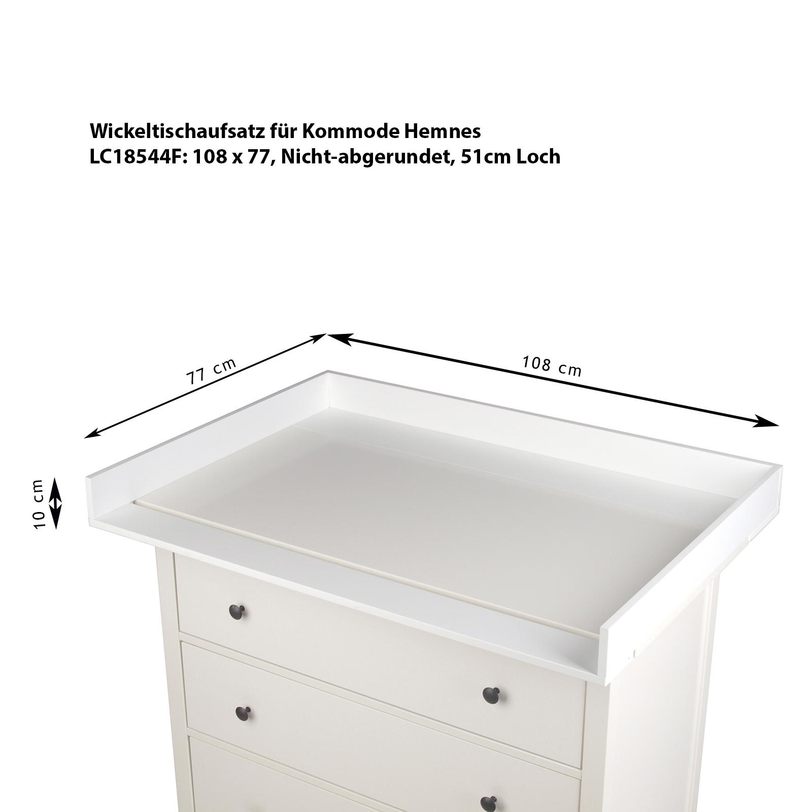 wickeltischaufsatz xxl wickelaufsatz f r ikea kommode malm hemnes wickeltisch ebay. Black Bedroom Furniture Sets. Home Design Ideas