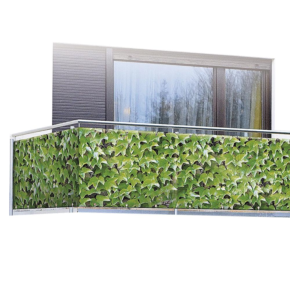 wenko sichtschutz f r balkon und terrasse windschutz l rmschutz schutzmatte neu ebay. Black Bedroom Furniture Sets. Home Design Ideas