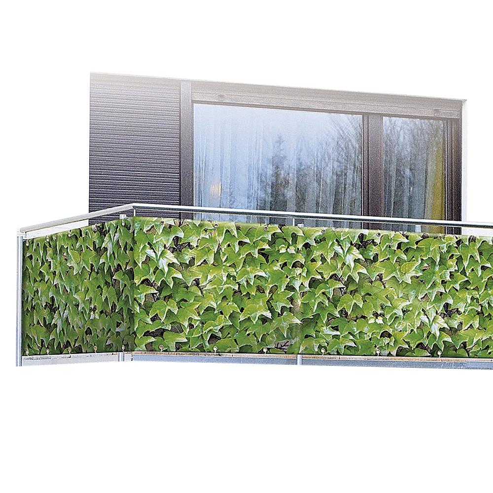 wenko sichtschutz wilder wein windschutz balkon terrasse unbenutzte b ware ebay. Black Bedroom Furniture Sets. Home Design Ideas