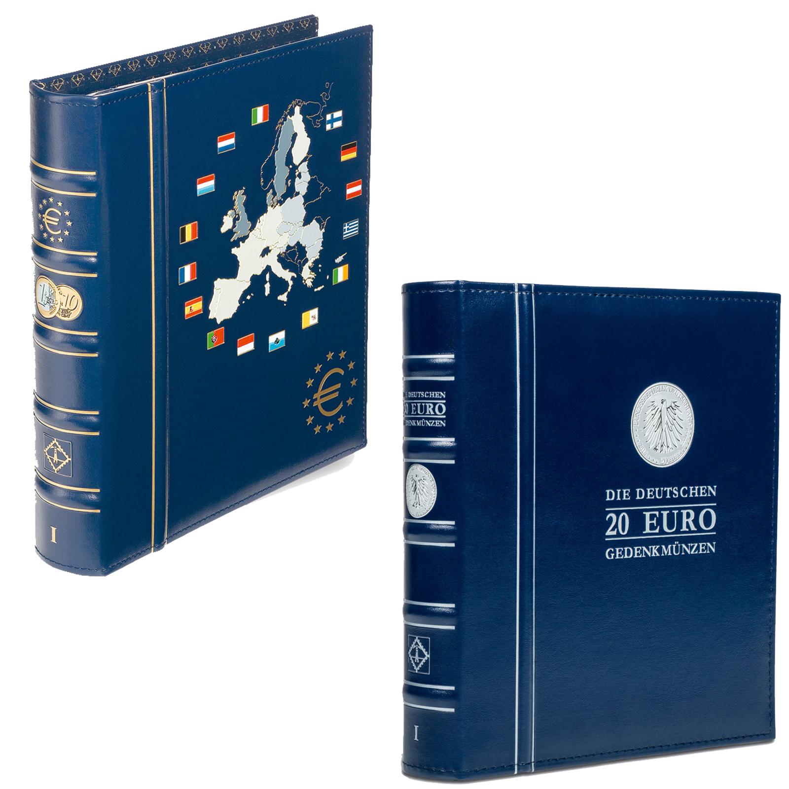 Leuchtturm Vista Euro Münzalbum Sammelalbum Kms Münzen Album
