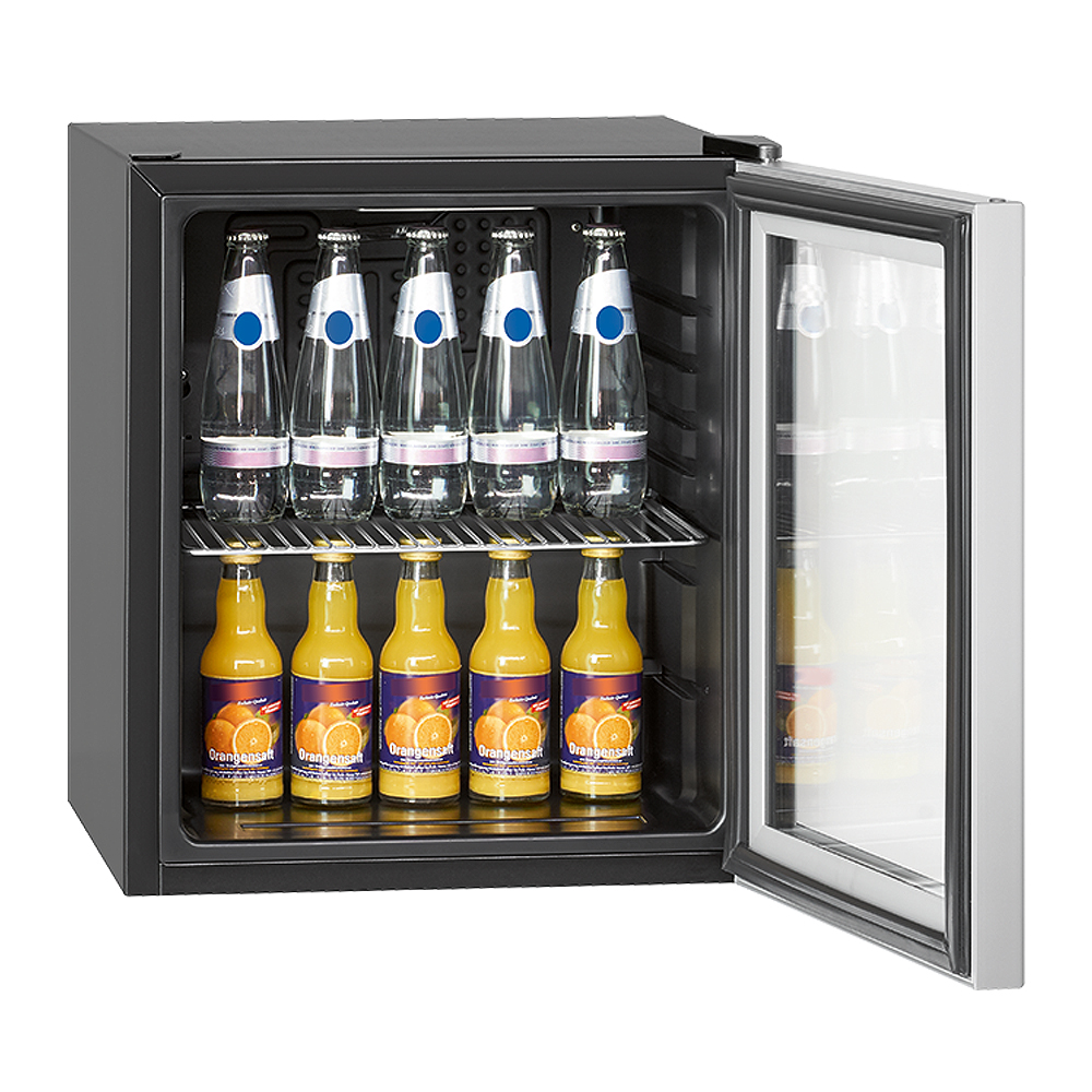 BOMANN Glastür-Kühlschrank KSG237 A+ 48L Minibar Kühlbox ...
