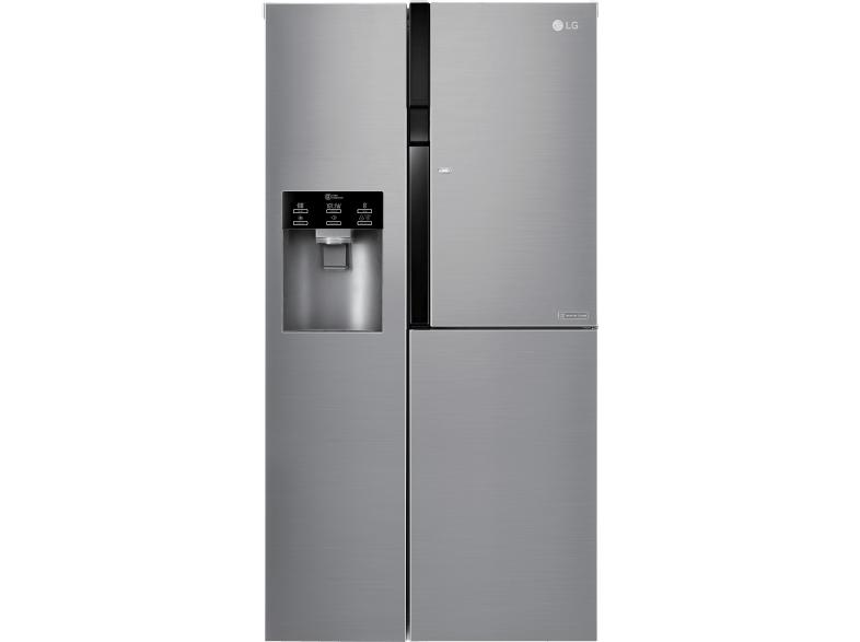 Side By Side Kühlschrank Eiswürfel Hygiene : Lg gsj pzuz side by side kühlschrank gefrierschrank