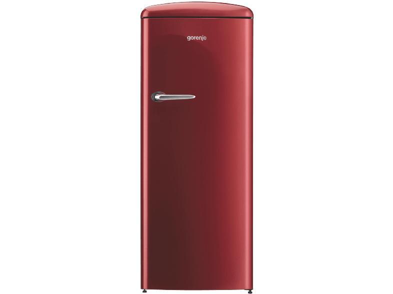 Gorenje Kühlschrank Rot : Gorenje orb153r retro kühlschrank a 1540 mm hoch rot