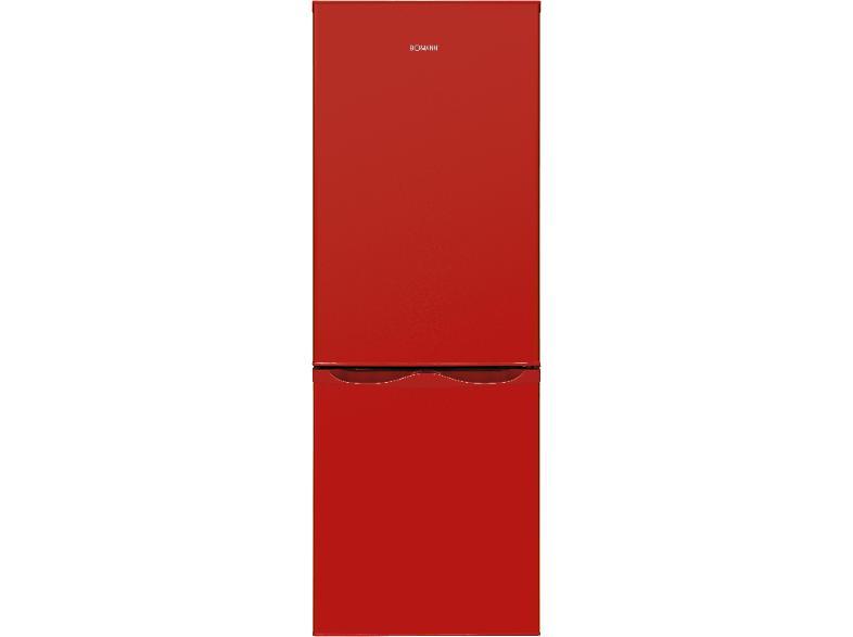 Bomann Retro Kühlschrank Rot : Bomann kühl gefrierkombination kg rot a l kühlschrank