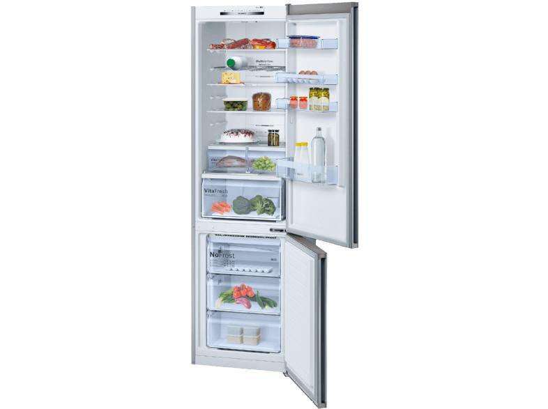 Bosch Kühlschrank Silber : Bosch kgn vi kühlgefrierkombination kühlschrank a cm